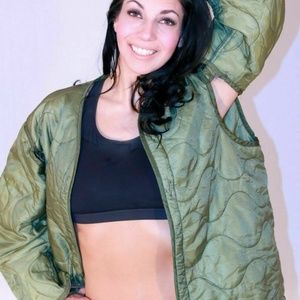 MILITARY FIELD JACKET COAT LINER QUILTED Medium